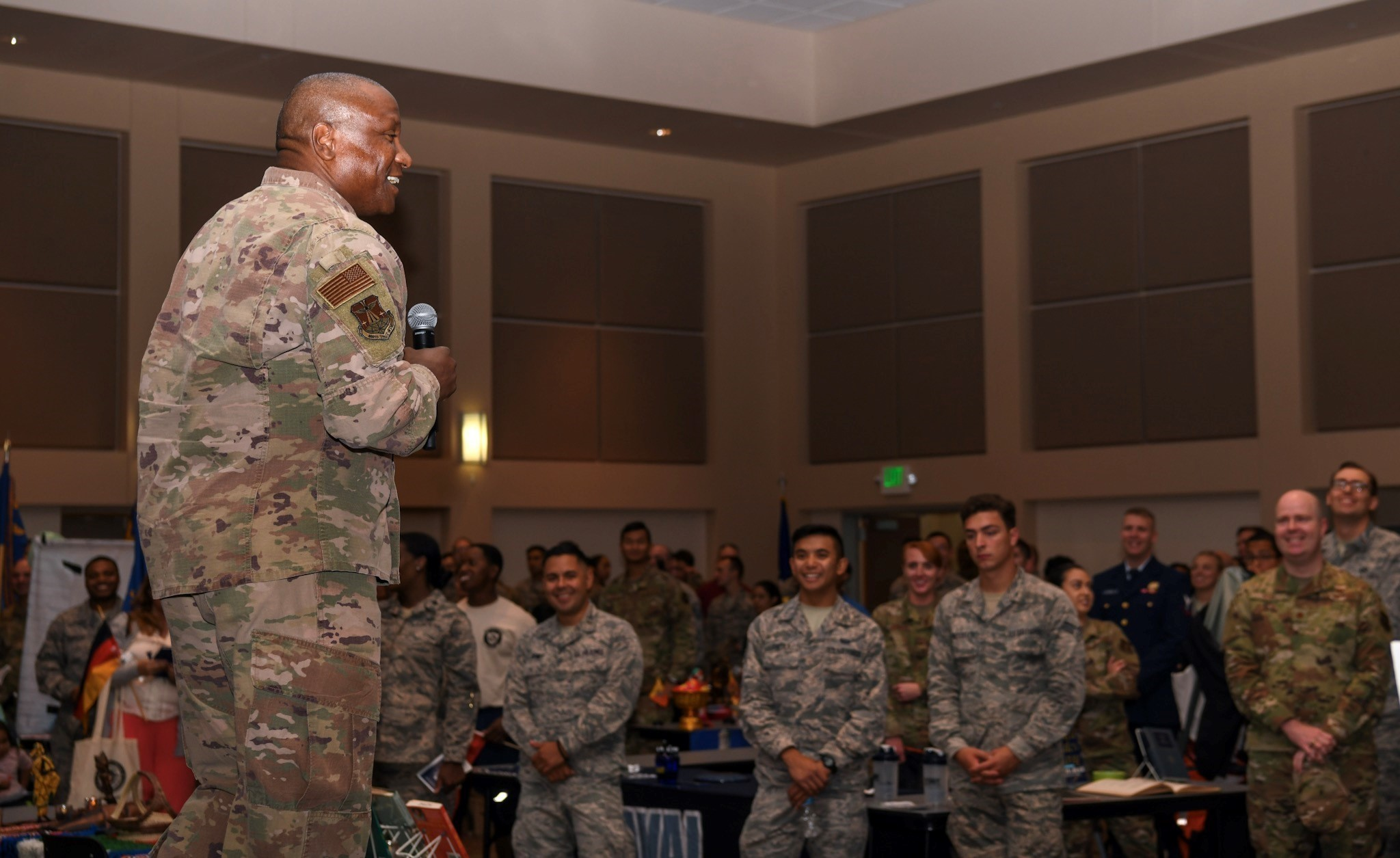 Buckley Garrison talks racial inequities