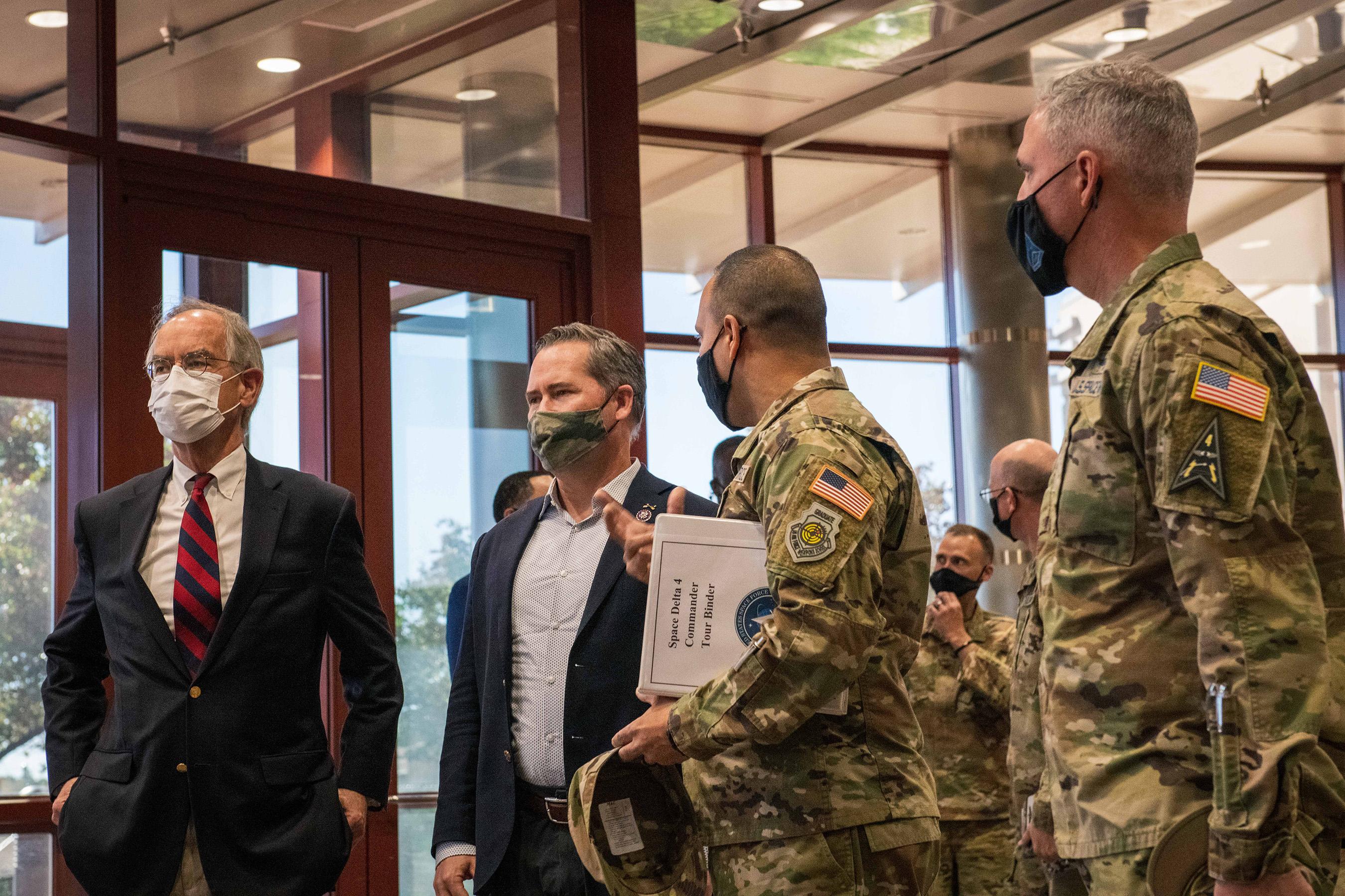 U.S. Representatives visit Buckley SFB